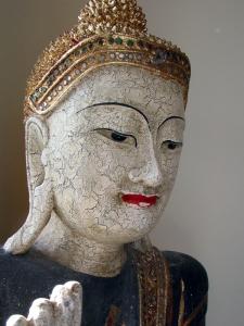 Buddha in the light